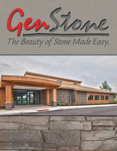 GenStone - Cardinal Building Products