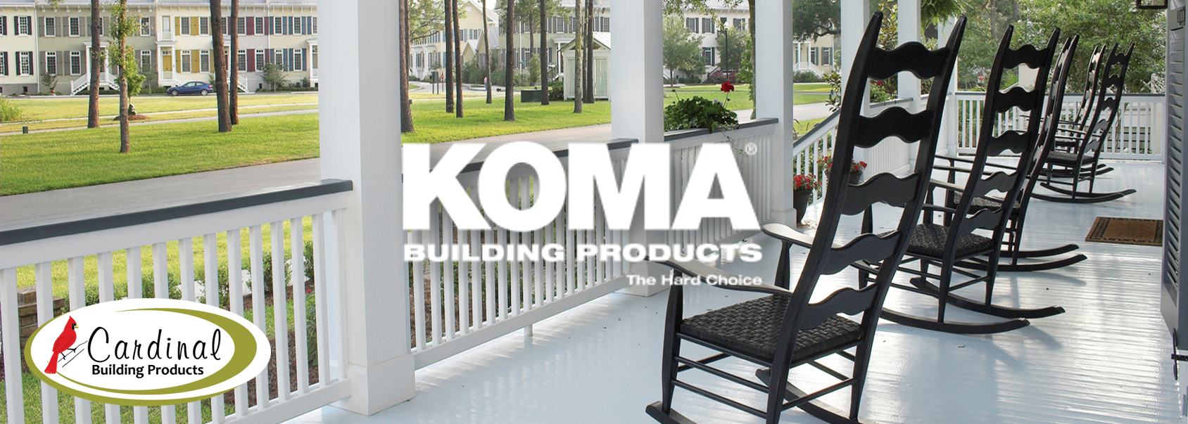 KOMA Building Products Harmony Porch Flooring - Cardinal Building Products