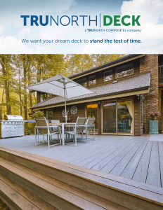 TruNorth Deck Brochure